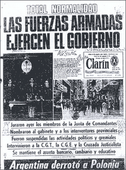 Clarin: total normalidad!
