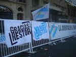 Gracias Nestor! Fuerza Cristina!