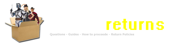 Costume-Returns.com | What and how best to return an unwanted costume!