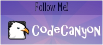 Follow me on CodeCanyon.com