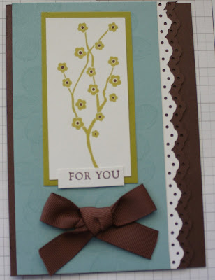 As you know, I love working with colour and making handmade cards. I have
