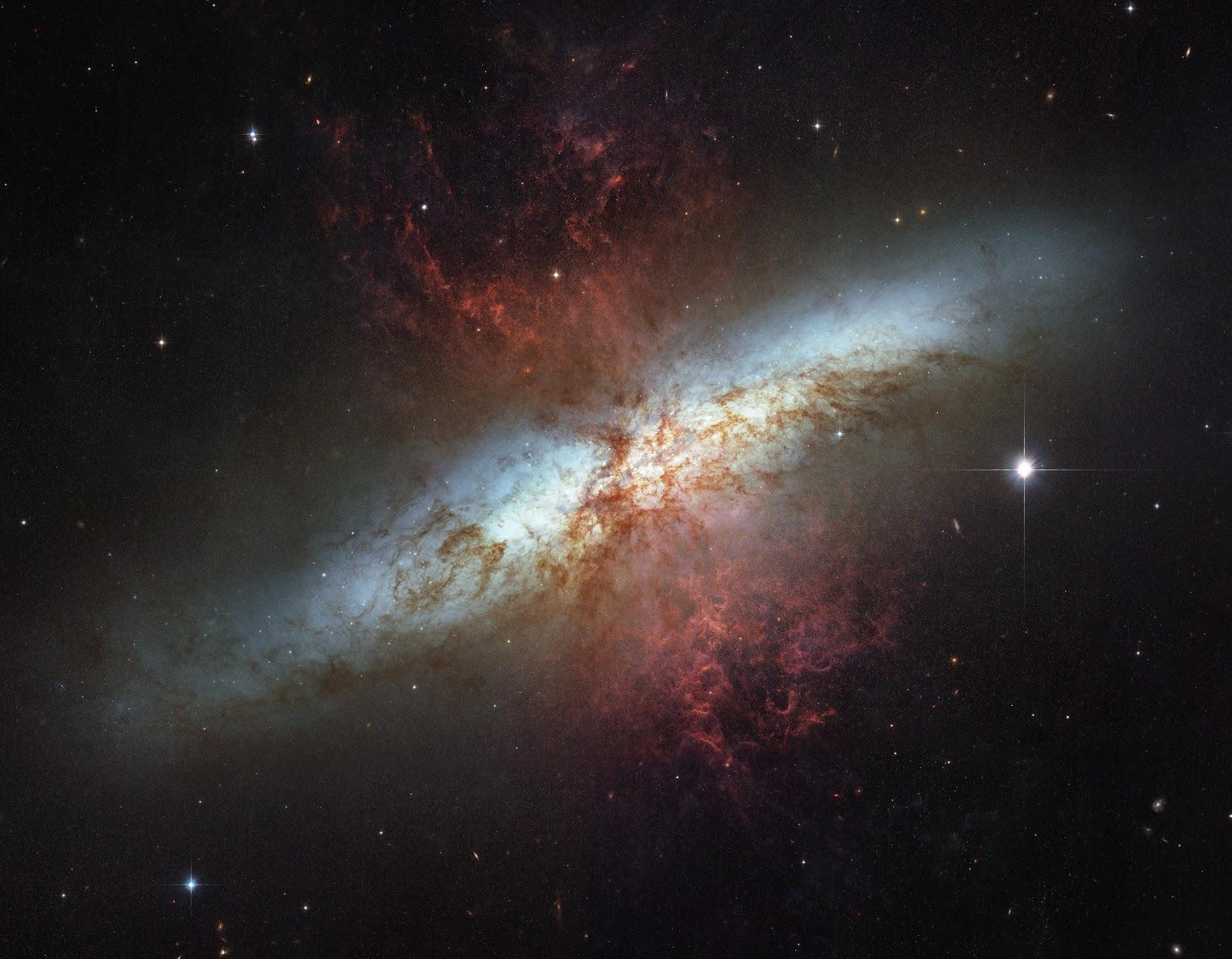 Hubble Space Telescope Desktop Background