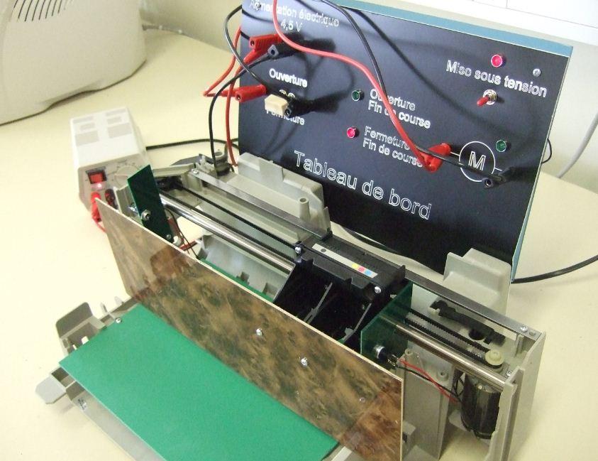 4ème, 3ème : maquette portail automatique