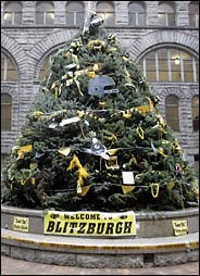 The Terrible Tree Pittsburgh Steelers