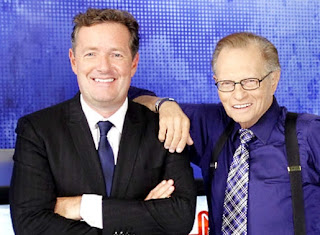 "Piers Morgan Larry King""/"