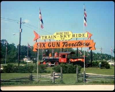 Electros Spark: Six Gun Territory Entrance 1974