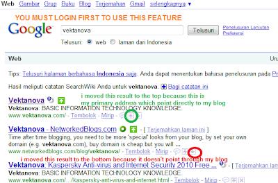 Google Search Engine Costumization