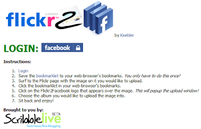 Flickr2Facebook, Upload Photo wthout Stuck