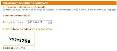 Homepages Sapo 1