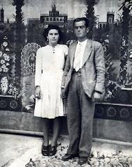 Mi abuelo Isidro y mi tia Dolores