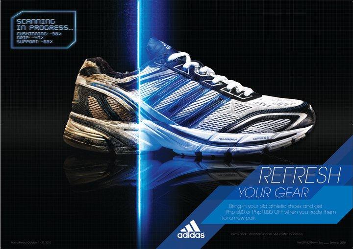 manila: sali sul tuo nuovo p1000 calzature adidas