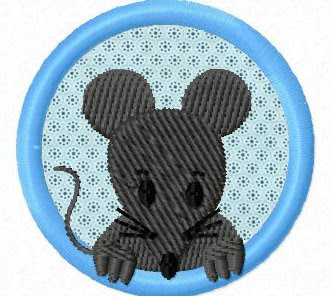smila s world blog stickmuster stickdatei embroidery design freebie mouse. Black Bedroom Furniture Sets. Home Design Ideas