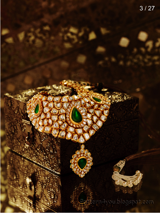 Pattern 4 You Tanishq Wedding Jewels Collection