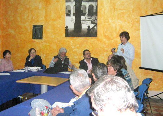 REUNION DE ENERO-09 CON EL ARQ JOSE PEREZ HERMOSILLO