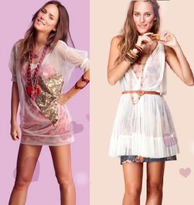 combinação de vestidos taomara que caia com sobreposições