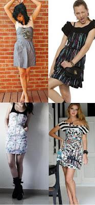 combinação de vestidos taomara que caia com blusas