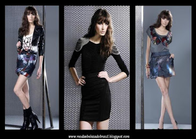 Moda Coleção Outono Inverno Espaço Fashion