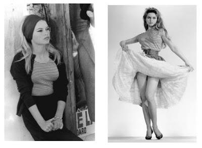Brigitte Bardot e saias de cintura alta