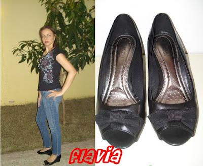 Sapato de Laço da Flavia