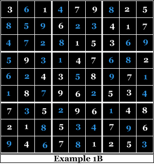 The Completed Sudoku Puzzle