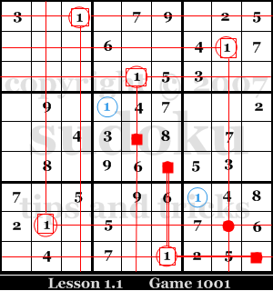 Sudoku Lesson 1.1: Dirty Pencil Sweep