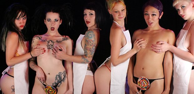 Funny Suicide Girls With Tattoos