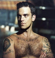 Robbie Williams Tattoo