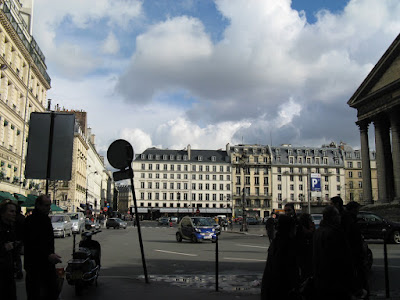 at Place Madeleine