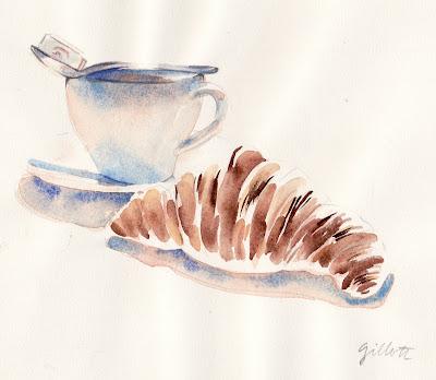 #111 - My boulangerie's croissant