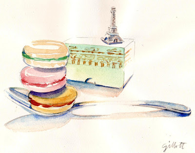 #120 - Laduree and Eiffel Tower