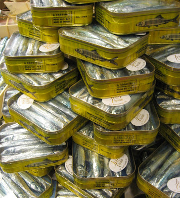 chocolate sardines