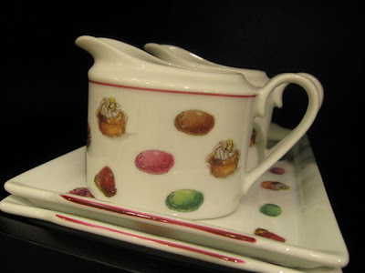 Fauchon macaron pitcher