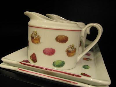 Fauchon macaron pitcher