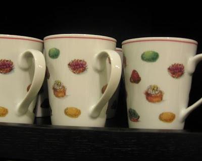 Fauchon Macaron mugs