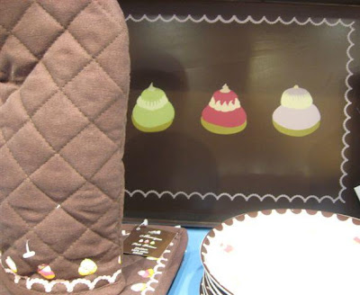 Potiron macaron tray