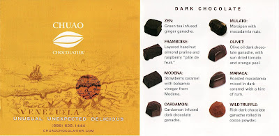 Chuao Chocolate Map
