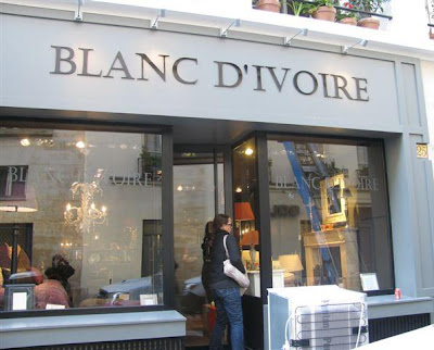 paris breakfasts: Blanc d\'Ivoire