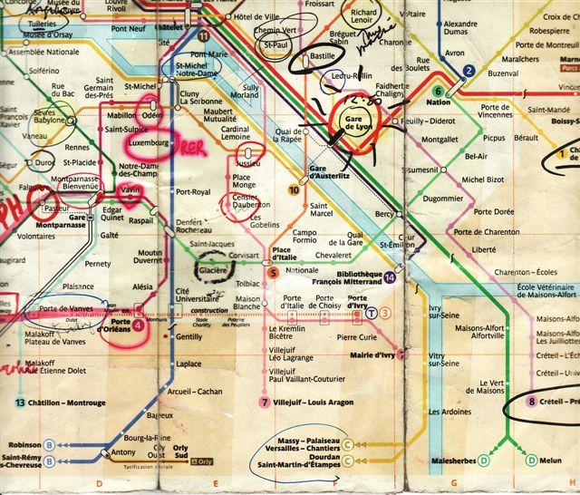 paris maps with paris map