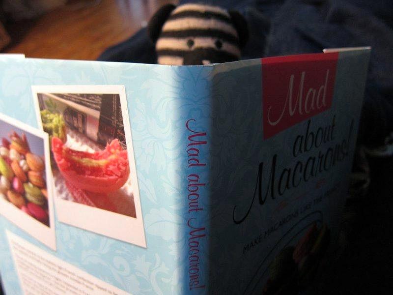 Macaron Recipe Book Book Mad About Macarons