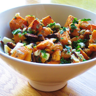 Mango & Tomato: Sweet Potatoes with Blue Cheese, Pecans ...