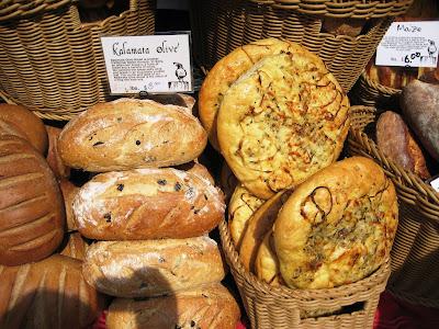 Penn Quarter farmer's market, bread