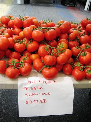 Penn Quarter farmer's market, tomatoes