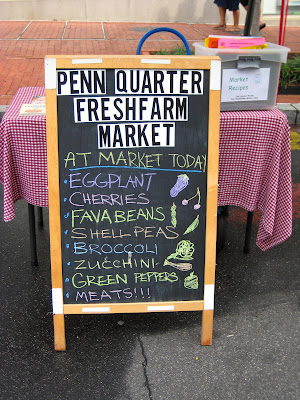 Penn Quarter farmer's market, Washington DC