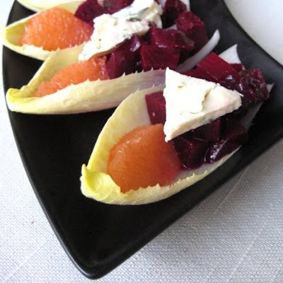Beet, Endive, Grapefruit & Blue Cheese Salad