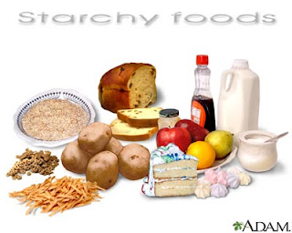 Starchy Foods - Carbohydrates Food Source