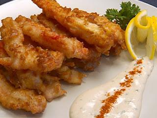 tempura chunks