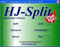 Cara Menggabungkan File Dengan HJ-Split