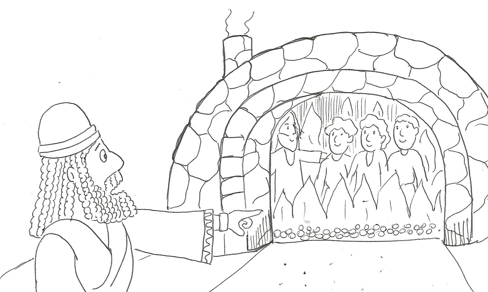 Lujoso Página Para Colorear De Horno De Fuego Friso - Dibujos Para ...