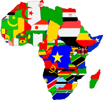 african flags Race, Ethnicity, and Nationality