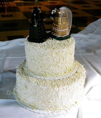The Geek Bride Geeky Wedding Cakes
